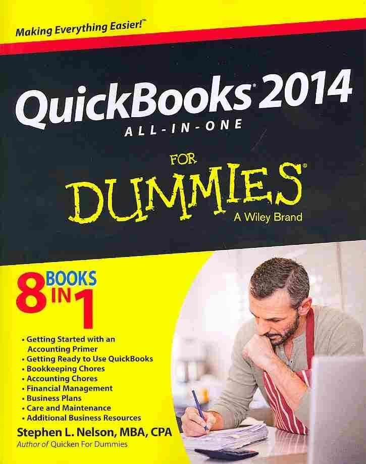 Quickbooks 'X' All-in-one for Dummies By Nelson, Stephen L.